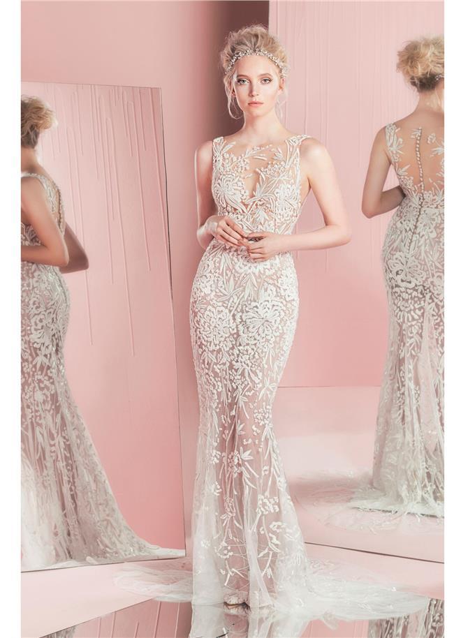 Svadobné šaty Nebeské svadobné šaty z kolekcie Zuhair Murad 2016 ... 61aae77cbc8