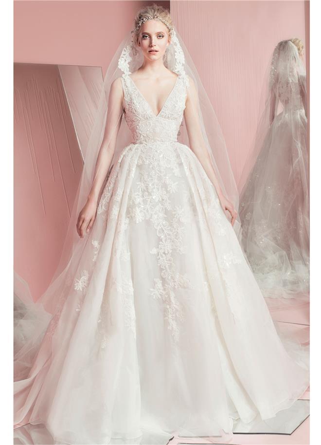 Svadobné šaty Nebeské svadobné šaty z kolekcie Zuhair Murad 2016 ... 606d19ebb59