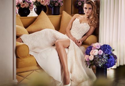 0d2e51e08a3e Svadobné šaty Caroline Castigliano  Jubilejná kolekcia Love is in the Air