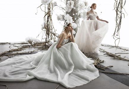 Svadobné šaty sú vzdušné a jemné ako obláčik. Jej názov je príznačný -
