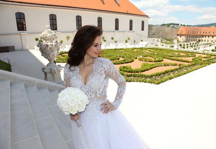 cd49bb9956ce Články Svadba módnej návrhárky Ivany Marmare