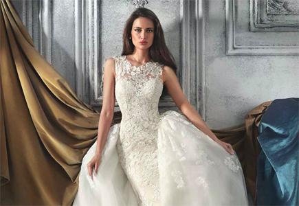 5ea24b9f21b0 Svadobné šaty Demetrios  Svadobné šaty hodné gréckej bohyne ...