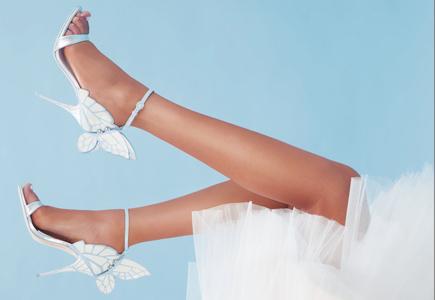 f7d134e32b767 Blog Sophia Webster: Svadobné topánky na motýlích krídlach | všetko, čo  nevesta potrebuje, je teraz na webe