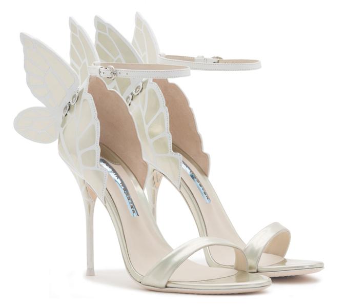 9868b98fd41a9 Blog Sophia Webster: Svadobné topánky na motýlích krídlach | všetko ...