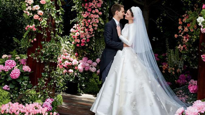 517c55157161 Blog Celebritné svadby roka 2017  Zaostrené na šaty!