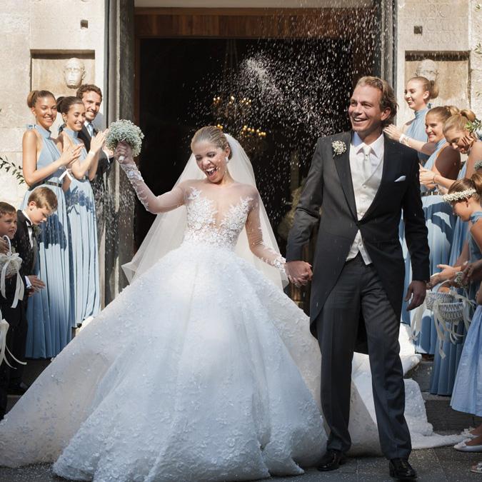 086a8d51c3f8 Výstavy Celebritné svadby roka 2017  Zaostrené na šaty!