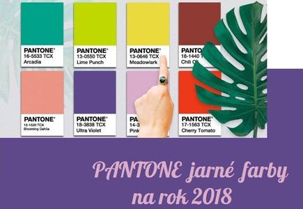 b29a0d40da Články PANTONE paleta jarných farieb na rok 2018 na nevesta.sk ...