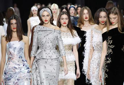 4e79fb48fd Články Parížsky týždeň módy 2018  Vysoká móda v jarnom šate