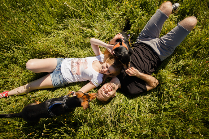 Rande: Katka a Lukáš, Foto: Ivana a Peter Millerovci
