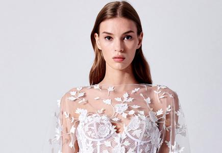 15cdf49da92e Svadobné šaty Ikonická značka Oscar de la Renta prekvapila svadobnou ...