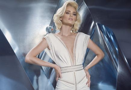 e3d475a121f4 Svadobné šaty Svadobné šaty Dany Mizrachi  Inšpirované vtáčou ríšou ...