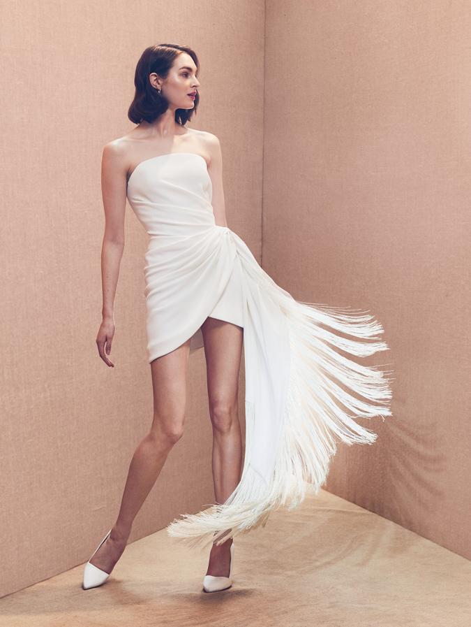9c1e0a6a1945 Svadobné šaty Oscar de la Renta 2020  Dôraz na prirodzenosť