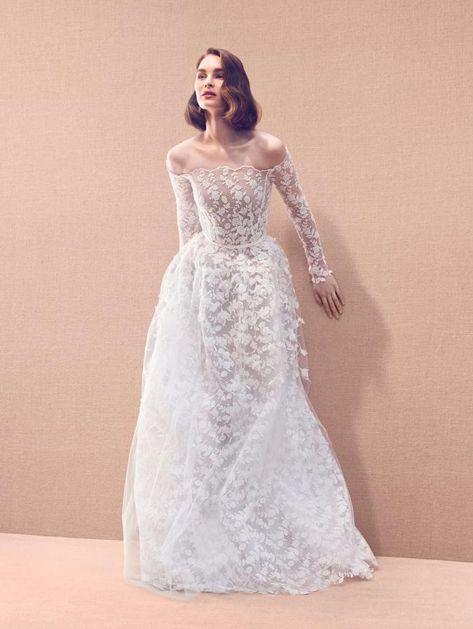 93dafcf0281a Svadobné šaty Svadobné šaty Oscar de la Renta 2020  Dôraz na ...